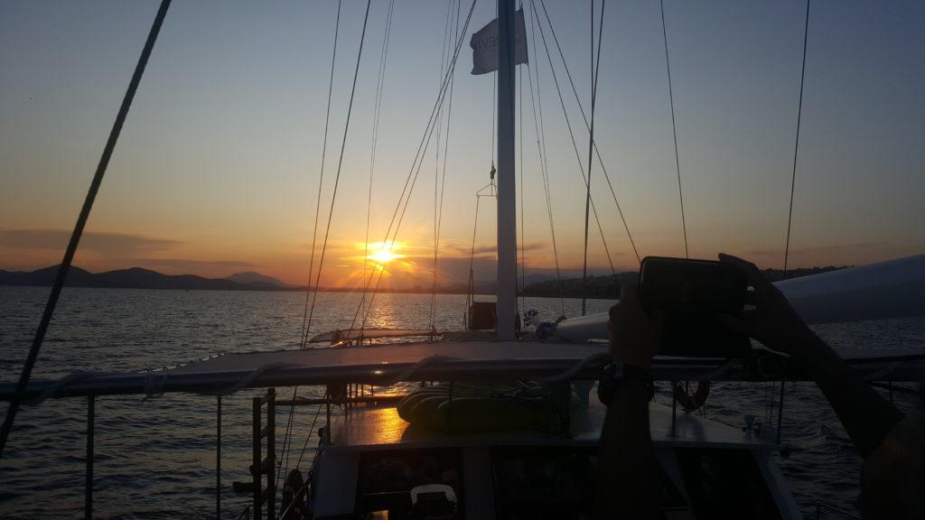 Sunset Saronic Gulf